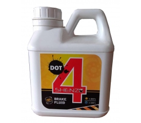 SHENZO DOT 4 Fully Synthetic Brake Fluid (1L)