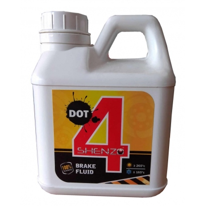 SHENZO DOT 4 Fully Synthetic Brake Fluid (1L)