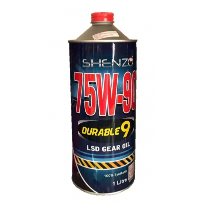 Shenzo Racing Oil 75W90 Durable 9 Manual Transmission Gear Oil For LSD and Non-LSD Transmission - 1L