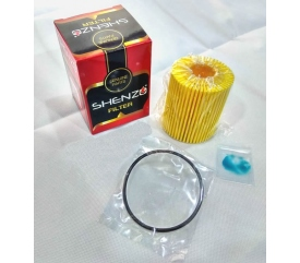 (For Toyota Altis, Wish, Harrier, Prius CT200H) YZZA6 Shenzo High Flow Performance Oil Filter Element Kit