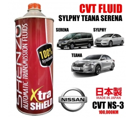 SHENZO XTRA SHIELD HIGH PERFORMANCE CVT FLUID (For Nissan Teana NS-3)