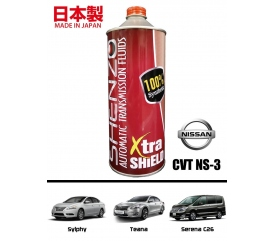 SHENZO XTRA SHIELD HIGH PERFORMANCE CVT FLUID (For Nissan Sylphy NS-3)