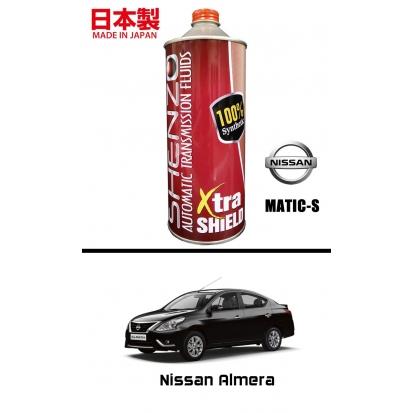 SHENZO XTRA SHIELD HIGH PERFORMANCE CVT FLUID (For Nissan Matic-S)