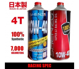 Shenzo Racing Oil Motorcycle 10W40 Racing Spec