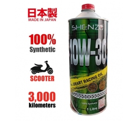 Shenzo Scooter 10W30 100% Synthetic Racing Oil (1L)