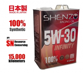 Shenzo Racing Oil 5w30 100% Synthetic Japan Engine Oil
