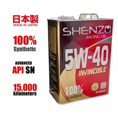 Shenzo Racing Oil 5w40 100% Synthetic Japan Engine Oil
